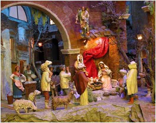 نمایش میلاد عیسی مسیح (ع) در ایتالیا
