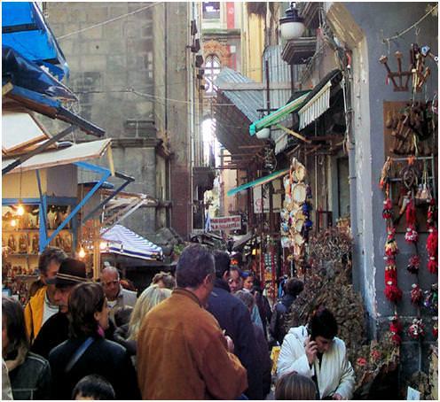 Via San Gregorio Armeno