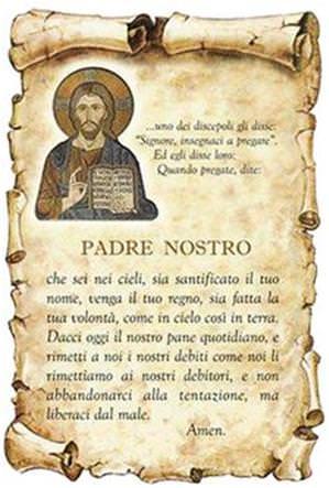 دعای Padre nostro