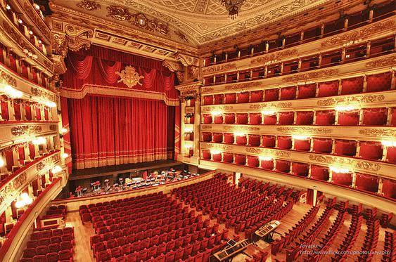 اپرا در ایتالیا Teatro alla Scala