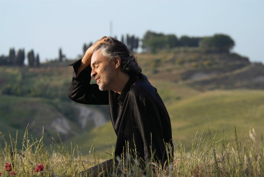 Andrea Bocelli - وب سایت ایتالیا و زبان ایتالیایی