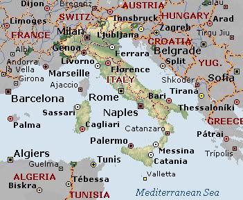 آشنایی با کشور ایتالیا (قسمت اول)