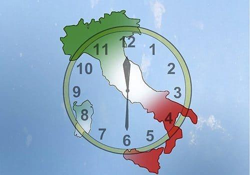 خواندن ساعت در زبان ایتالیایی