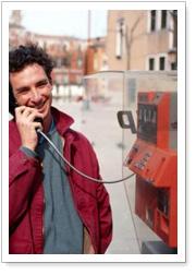 تلفن به سبک ایتالیایی