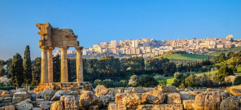 مجموعه ساختمان های شهر باستانی آگریجنتو (Agrigento)