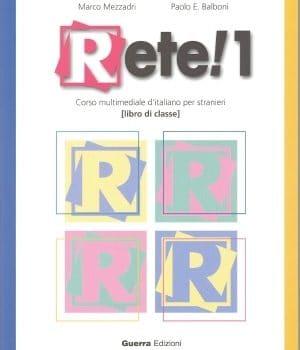 کتاب Rete! 1 برای یادگیری زبان ایتالیایی