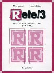 کتاب آموزش زبان ایتالیایی رته Rete 3