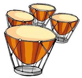 ساز های ایتالیایی timpani
