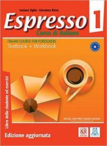 سری کتاب های Espresso از بهترین منابع یادگیری زبان ایتالیایی و منبع اصلی یادگیری زبان ایتالیایی برای شرکت در امتحان سفارت ایتالیا (مدرسه ایتالیایی تهران) و اخذ ویزای تحصیلی بوده است.