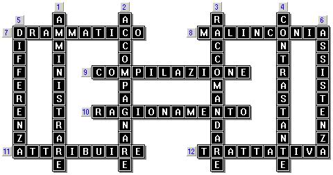 جدول ایتالیایی هفته