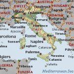 آشنایی با کشور ایتالیا - نقشه ایتالیا