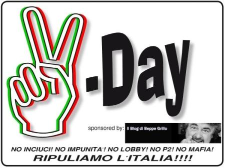 V-day ایتالیا و زبان ایتالیایی
